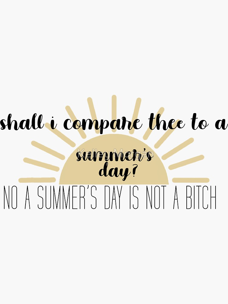 Nick Miller Summer's Day Quote by kelleym123