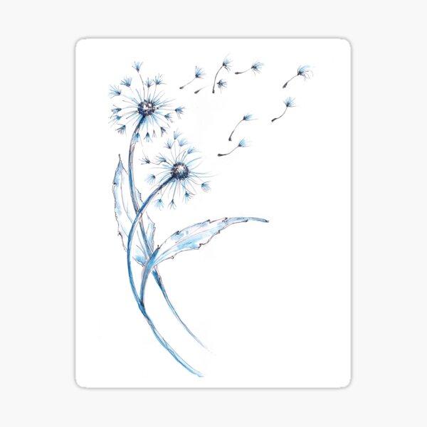 Dandelions Magic Wishes Sticker