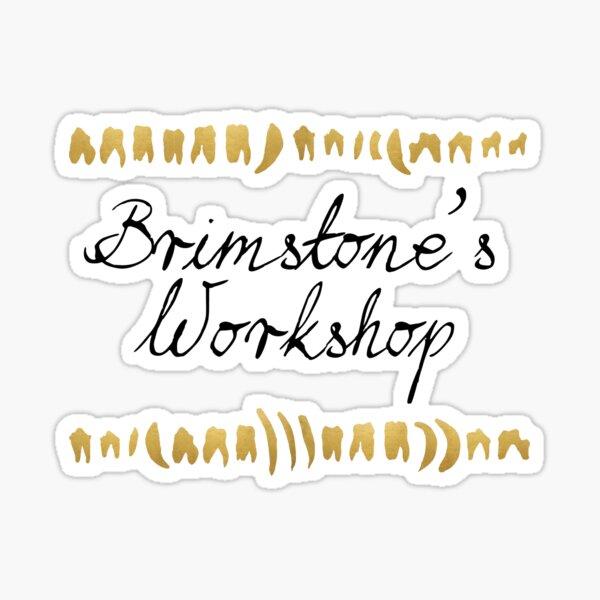 Brimstone's Workshop Sticker