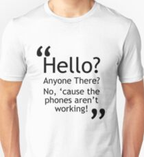 Torchwood - Phones Aren't Working T-Shirt