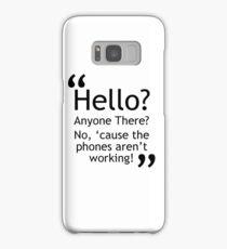 Torchwood - Phones Aren't Working Samsung Galaxy Case/Skin