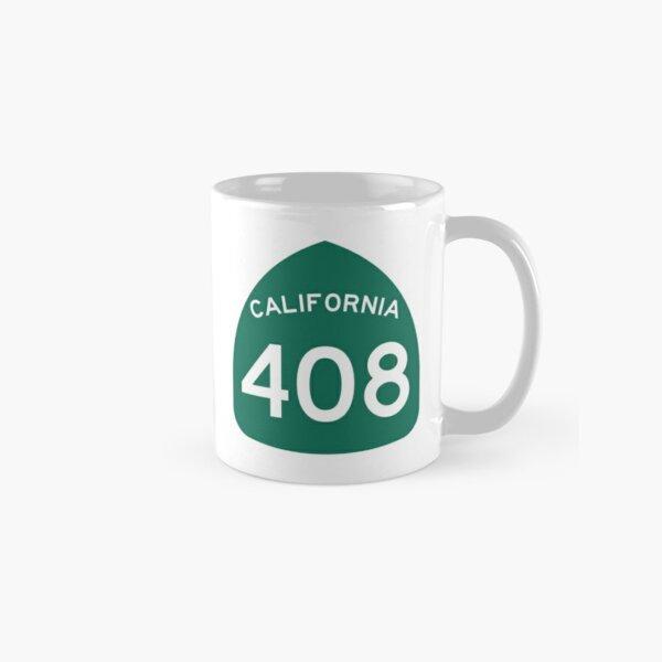 California State Route 408 (Area Code 408) Classic Mug