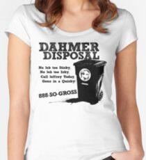 Dahmer Disposal! Women's Fitted Scoop T-Shirt