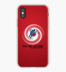 Men of Letters iPhone Case