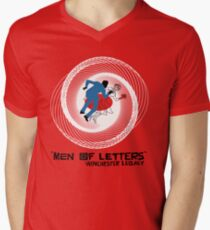 Men of Letters Men's V-Neck T-Shirt