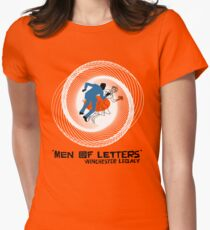 Men of Letters Women's Fitted T-Shirt