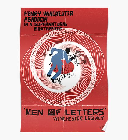 Men of Letters Poster