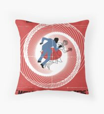 Men of Letters Throw Pillow