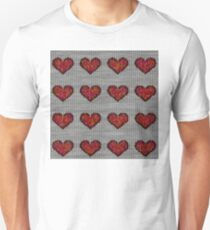 knitted hearts T-Shirt