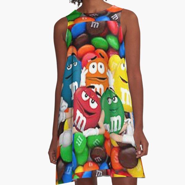 M&M Crew (Large Scale) A-Line Dress