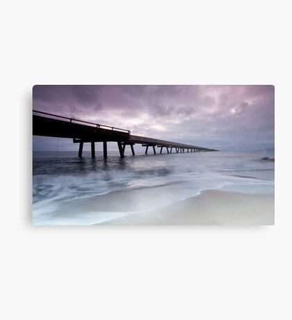 Out To Sea - Lucinda Jetty Metal Print
