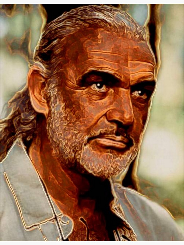 SEAN CONNERY by michaeltodd