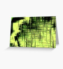 Screen Green Greeting Card
