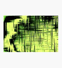 Screen Green Photographic Print