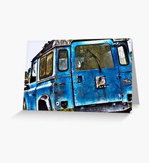 Old Land Rover Greeting Card
