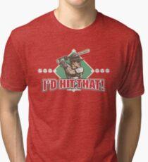 I'd Hit That Baseball Diamond Tri-blend T-Shirt