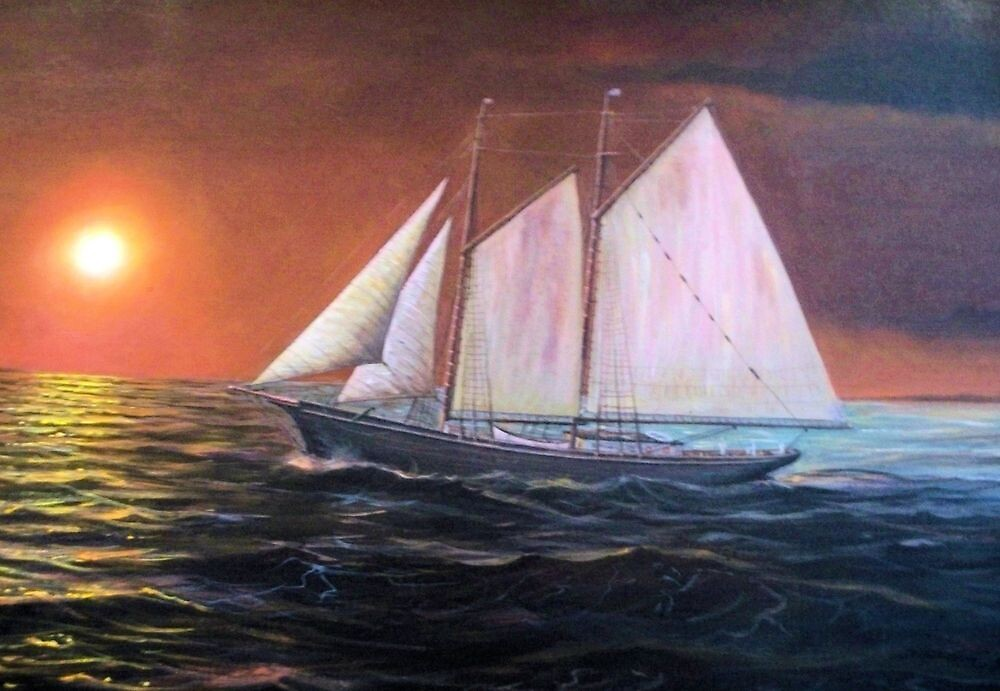 U. S. Revenue Marine Service cutter Dobbin by William H. RaVell III
