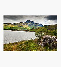 Slioch & Loch Maree Photographic Print