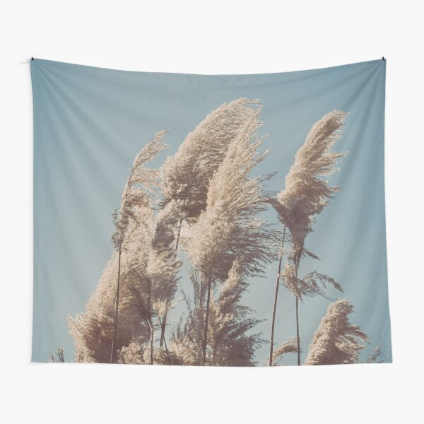 Canes on the Cloudy Blue Sky - Dramatic Style Tapestry
