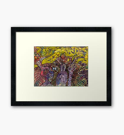 Incarnation Framed Print