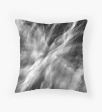 When we let go - an abstract expressionism Throw Pillow