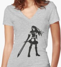 Erza Women's Fitted V-Neck T-Shirt