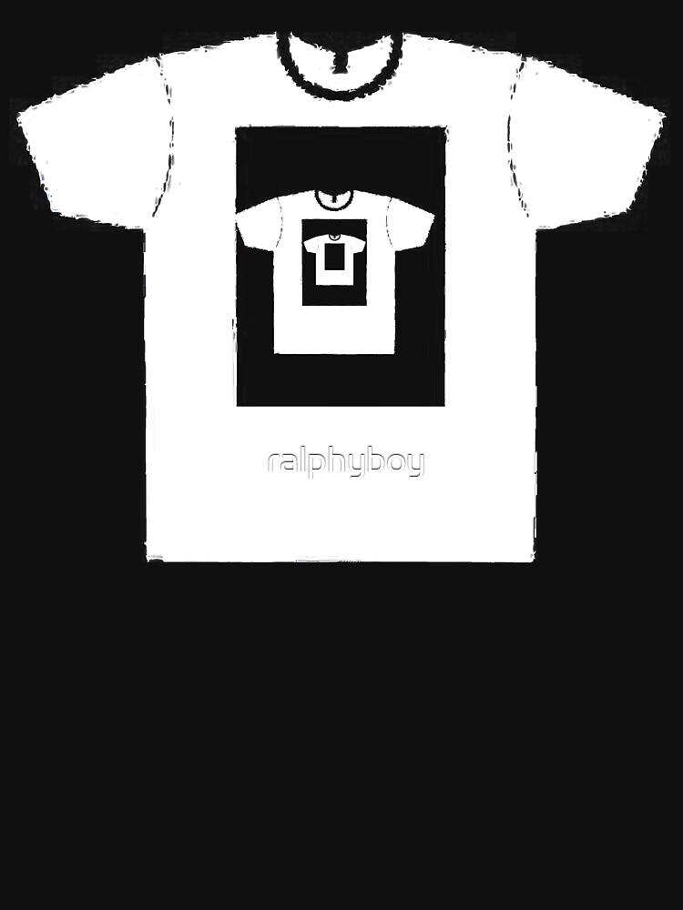 t-shirt on a t-shirt by ralphyboy