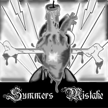 Summers Mistake Nociceptor Black and White Logo by SummersMistake