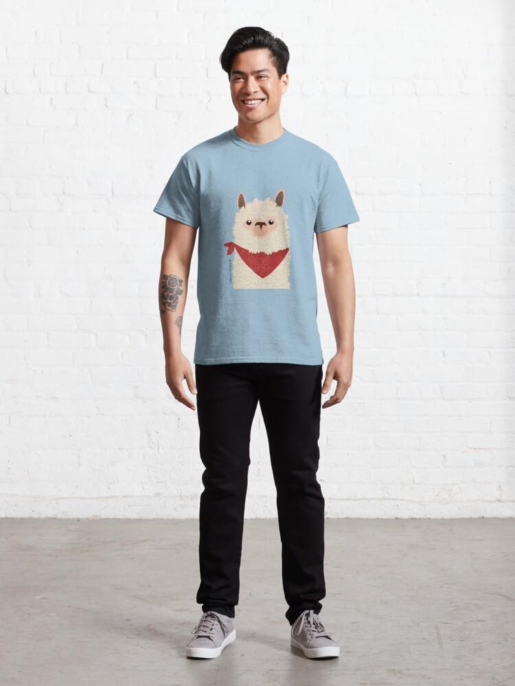 Alternate view of Llama Classic T-Shirt