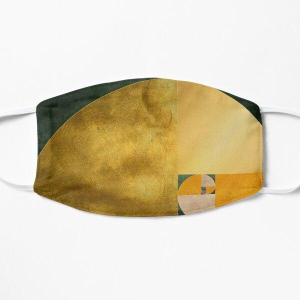 Golden Spiral Flat Mask