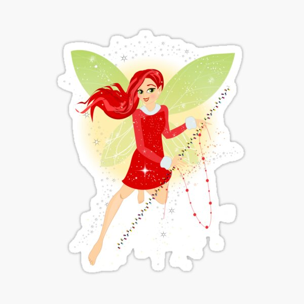 Holly In A Fairy Tale Christmas™ Sticker