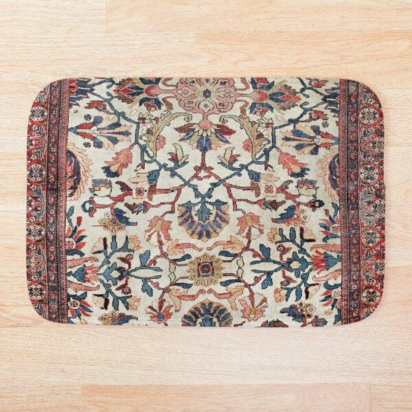 Mahal West Persian Rug Print Bath Mat