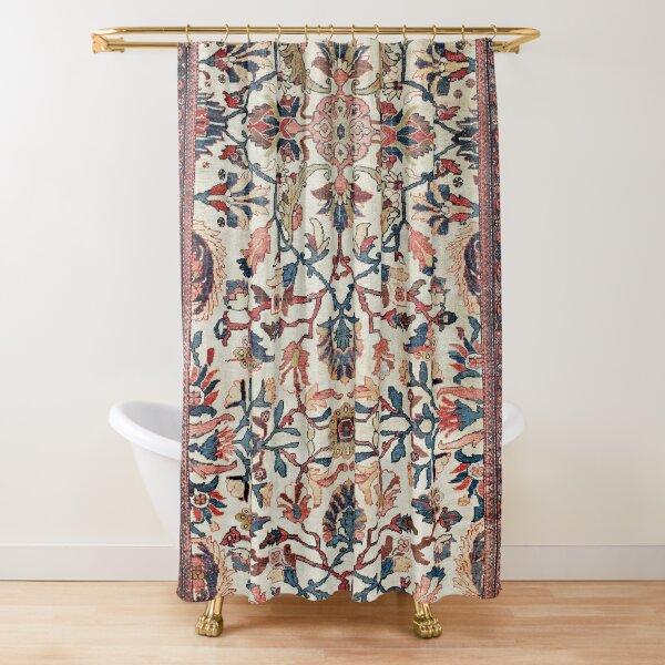 Mahal West Persian Rug Print Shower Curtain
