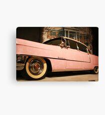 Elvis' Cadillac  Canvas Print