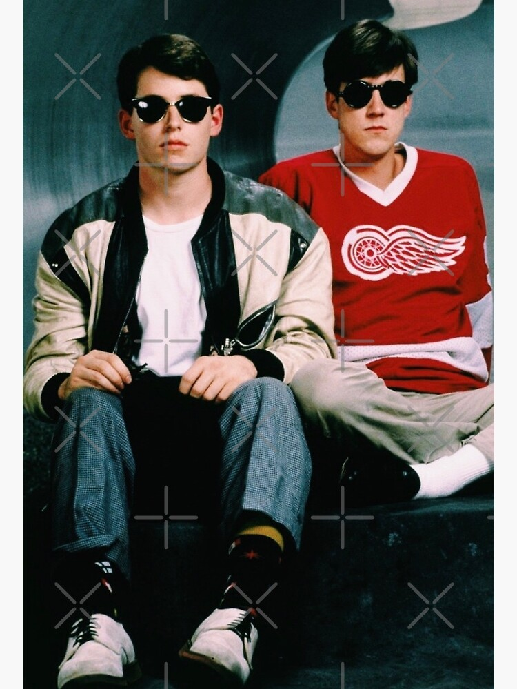 Ferris Bueller's Day Off and Cameron Poster and Print by nblefkowitz