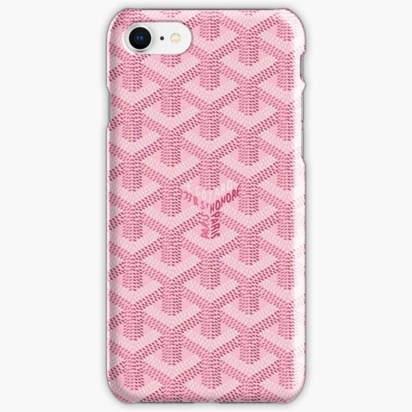 pink goyard pink iPhone Snap Case