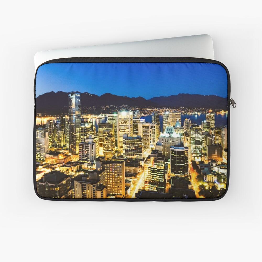 1374 Twilight Evening Vancouver British Columbia Canada Laptop Sleeve