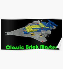 Classic Brick Master Poster