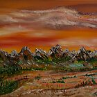 Autumn Rockies by James Bryron Love