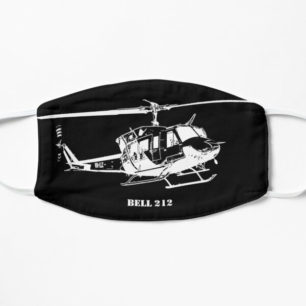 Bell 212 Helicopter Flat Mask