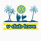 v dub love surf by zacco
