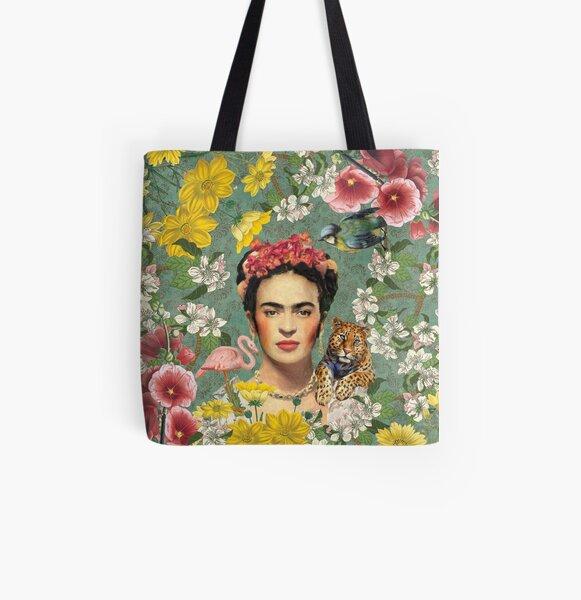 Frida Kahlo Tote bag doublé