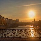 Sunrise in Paris by Robyn Carter