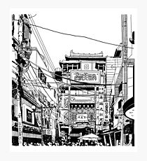 Yokohama - China town Photographic Print