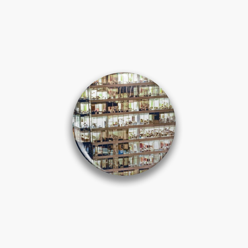 1711 Financial District Cityscape Vancouver Pin