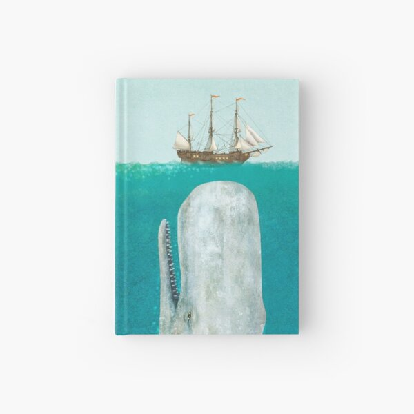 The Whale - Full Length  Hardcover Journal