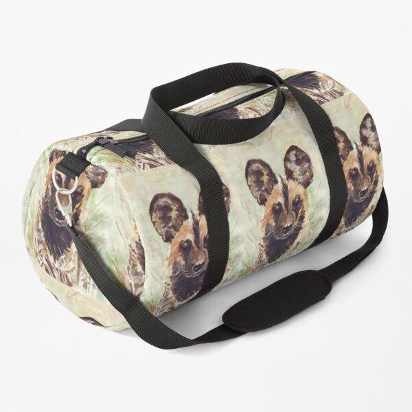 African Wild Dog Duffle Bag