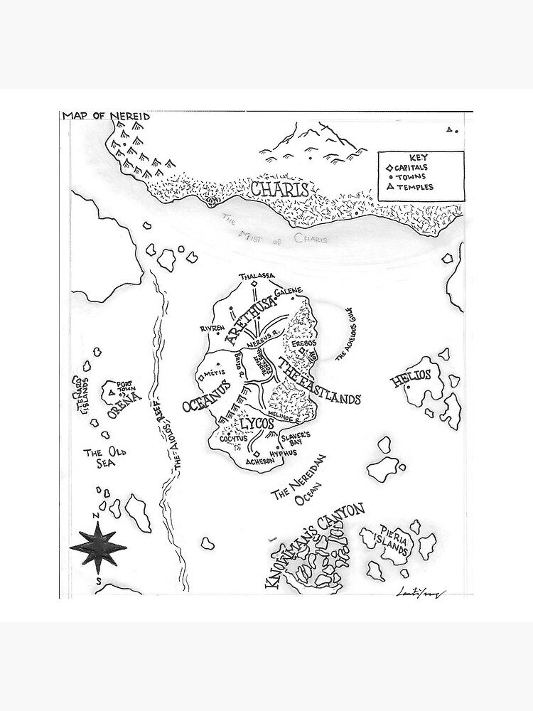 The Map of Nereid by cityoflove23