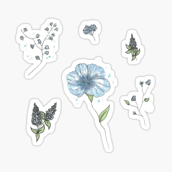 Plants and Flowers Sticker Sheet 2 Sticker