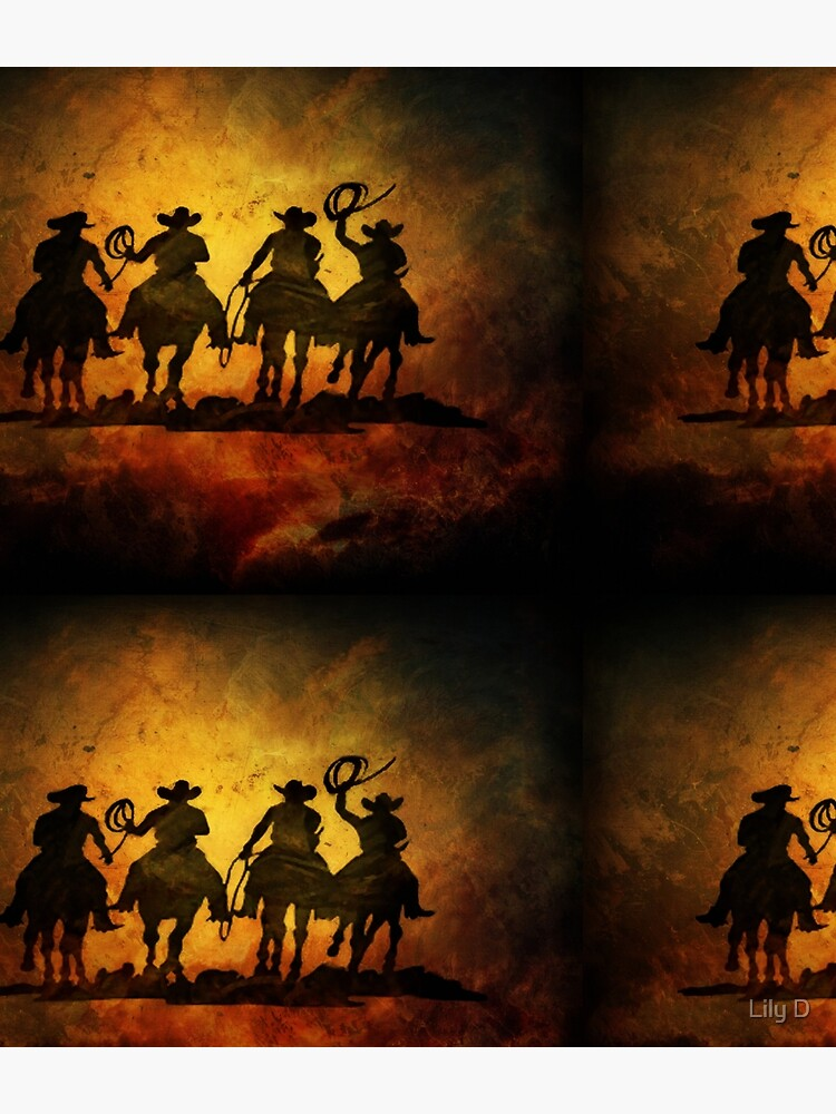 Wild West Cowboys by lldd11